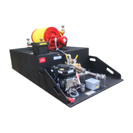 Highly customizable and affordable Spartan fire skid unit for firefighting