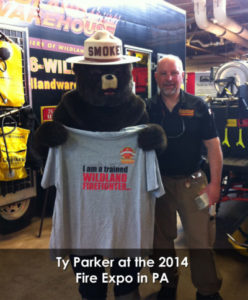 Smokey the Bear Wildland Firefighting Gear with Ty Parker